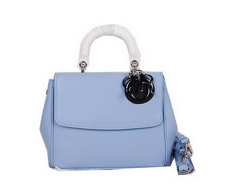 Dior Cruise 2015 Show Top Handle Bag CD0315 SkyBlue