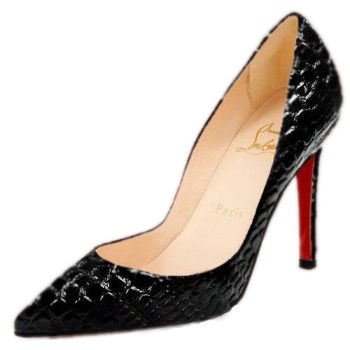 Christian Louboutin Pigalle Pumps Black