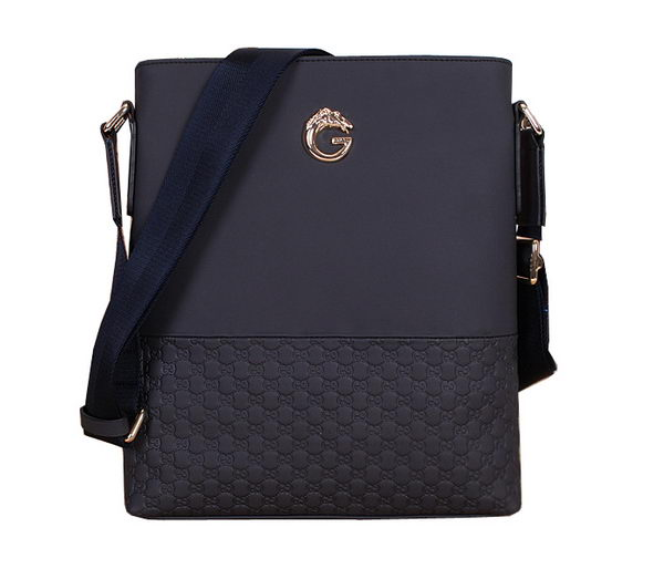 Gucci Guccissima Messenger Bag 86275 RoyalBlue