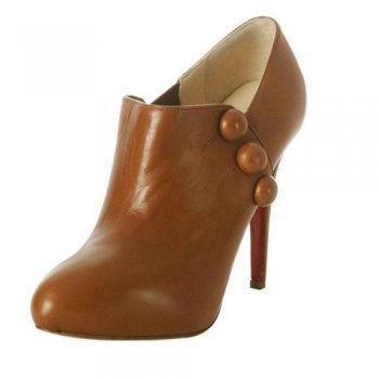 Christian Louboutin Astraqueen Leather Brown Boots