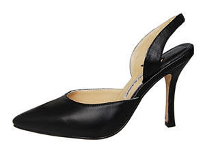 Manolo Blahnik Beloved Carolyne slingback