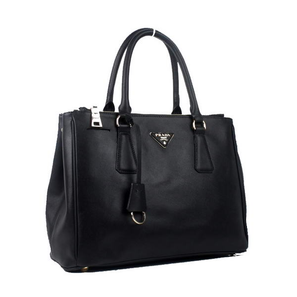 Prada BN2275 NZV F0002 Saffiano Calf Leather Tote Bag