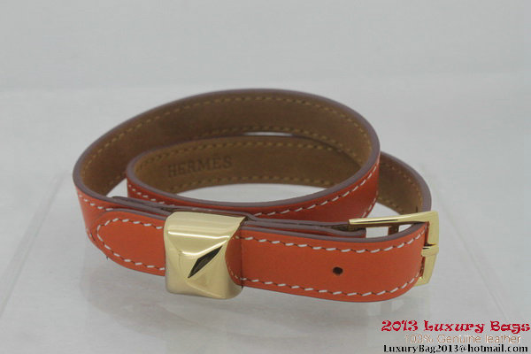 Hermes Genuine Leather Bracelet H1142_5