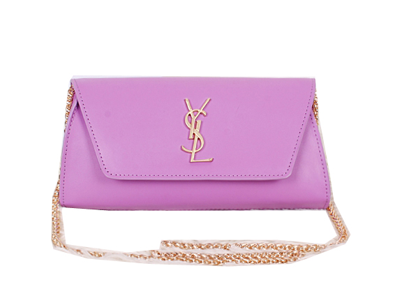 Saint Laurent Small Betty Bag Calf Leather Y7139 Purple