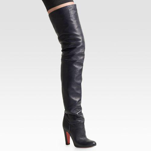 Christian Louboutin Contente Over-The-Knee Boots