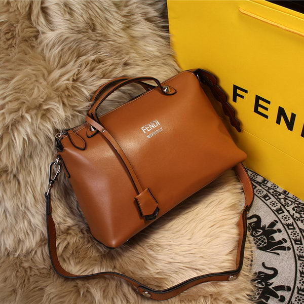 Fendi BY THE WAY Bag Original Leather FD2353 Wheat