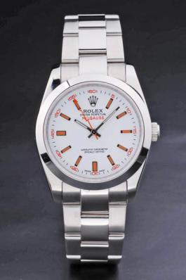 Rolex Milgauss White Stainless Steel 36mm Men Watch-RM3887