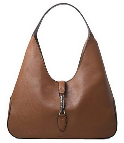 Gucci Jackie Soft Leather Hobo Bags 362968 Apricot