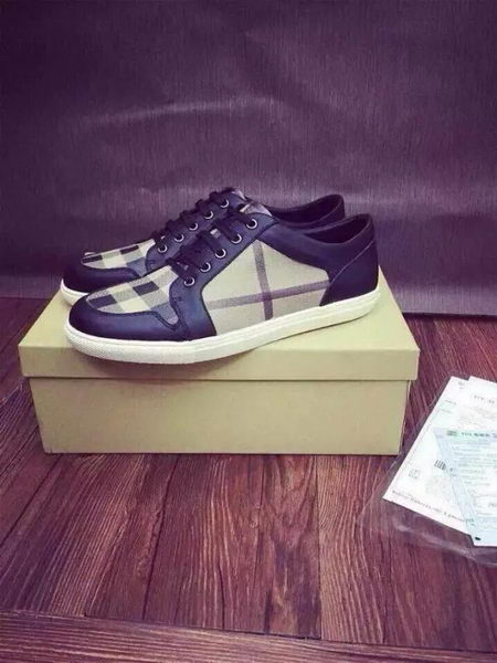 BurBerry Casual Shoes Canvas BUR100HT Black