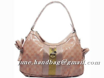 Gucci Crystal Medium Hobo Bag 211926 Pink