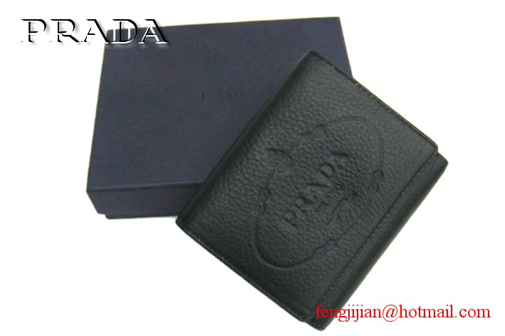 Authentic Prada Wallet B0176 black