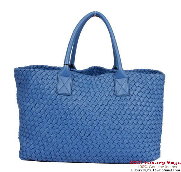 Bottega Veneta Cabat Tote Bag BV5211 Blue
