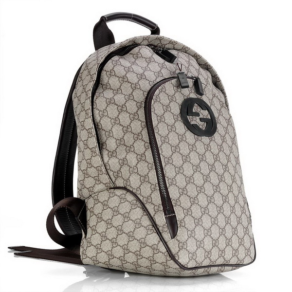 Gucci 233705 GG Fabric Backpack Bag