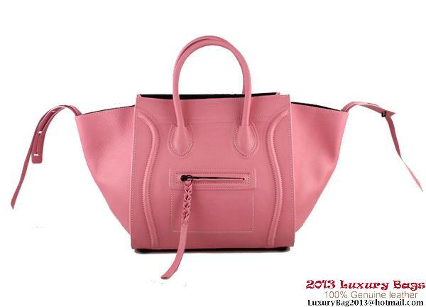 Celine Luggage Phantom Shopper Bags Leather 88033 Pink
