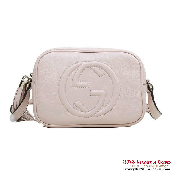 Gucci Soho Disco Bag Calfskin Leather 308364 Light Pink