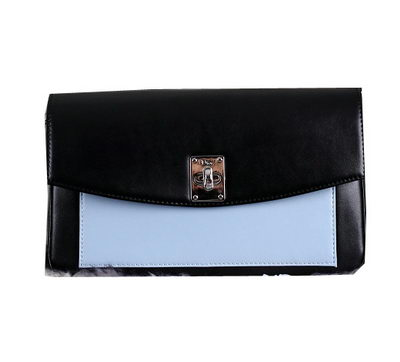 Dior Twist Promenade Pouch Three-Tone Smooth Calfskin CD0042 SkyBlue