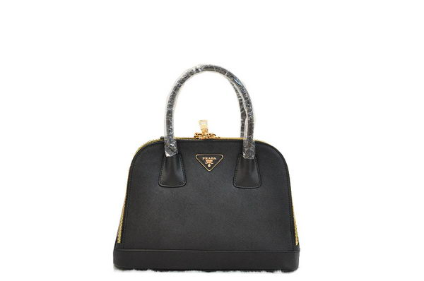 Prada Saffiano Calf Leather Tote Bag BN2593 Black