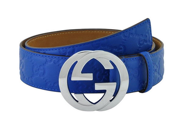 GUCCI Belt CI1075 Blue