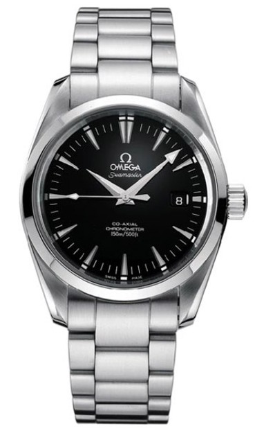 Omega Seamaster Aqua Terra Series Mens Stainless Steel Wristwatch-2503.50.00