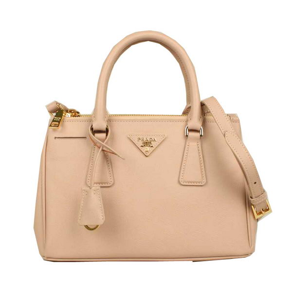 Prada Small Saffiano Calfskin Leather Bag BN2316 Light Pink