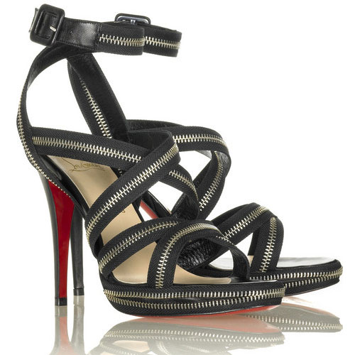 Christian Louboutin Rodita zip platforms Black