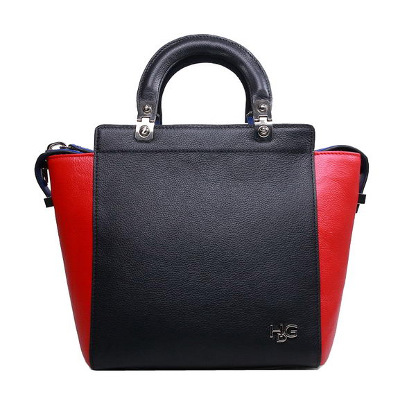 Givenchy HDG Bag in Original Calf Leather 9830 Black&Red