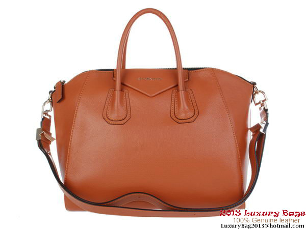 Givenchy Antigona Bag Clemence Leather 9981 Brown