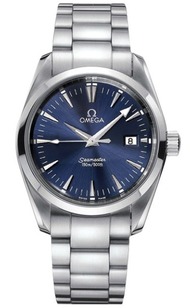 Omega Seamaster Aqua Terra Series Mens Stainless Steel Wristwatch-2517.80.00