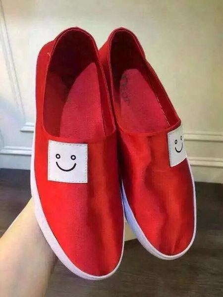 Dior Canvas Casual Shoes DIOR0280HT Red