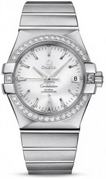 Omega Constellation Chronometer 35mm Watch 158629AN