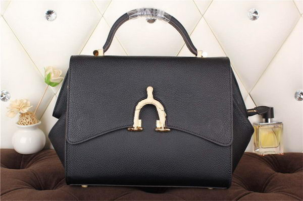 Hermes Stirrup Top Handle Bag H30560 Black