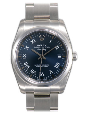 Rolex Air-king Series Mens Automatic Wristwatch 114200-BLRO