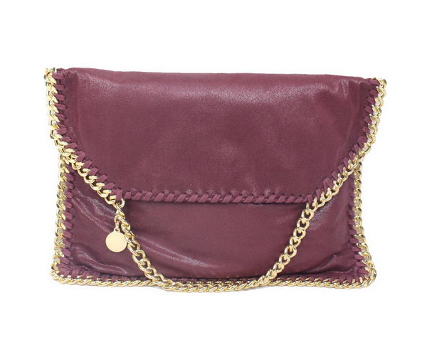 Stella McCartney Falabella PVC Cross Body Bag 876 Burgundy