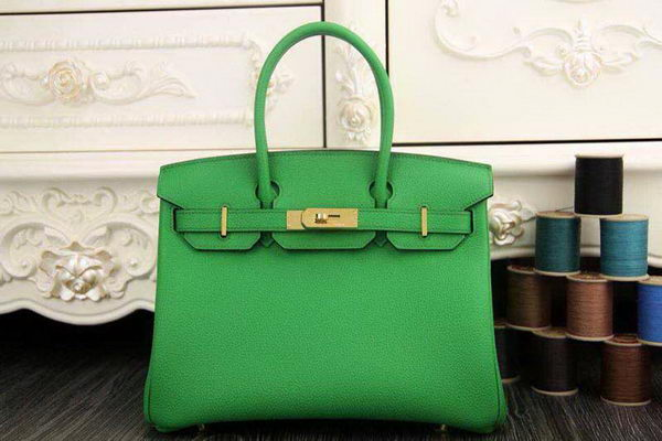 Hermes Birkin 35CM 30CM Tote Bag Original Leather HB35O Green