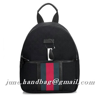 Gucci GG Fabric Medium Backpack 190278 Black