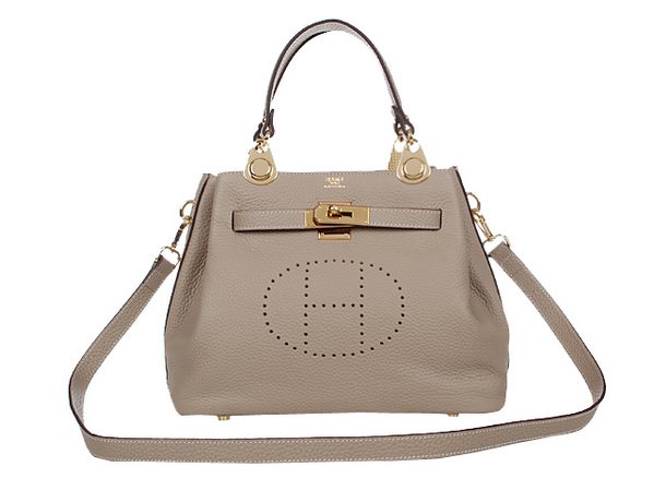 Hermes Mini So Kelly 30CM Bag H2048 Grey