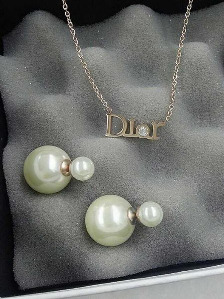 Dior Necklace & Earrings D426A