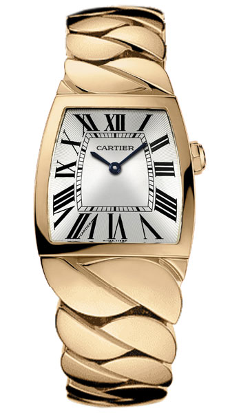 Cartier La Dona 18k Rose Gold Midsize Ladies Wristwatch-W640040I