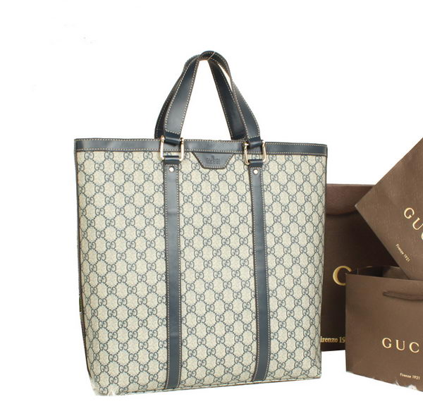 Gucci GG Supreme Canvas Tote Bag 322063 Blue