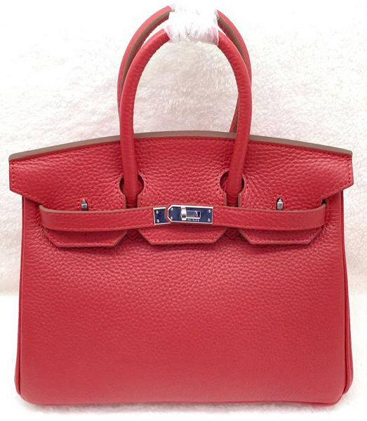 Hermes Birkin 25CM Tote Bag Original Leather H25T Red