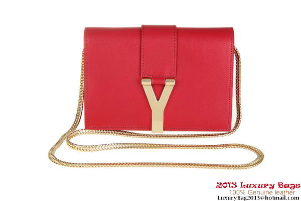 Yves Saint Laurent Chyc mini Travel Case Y0050 Red