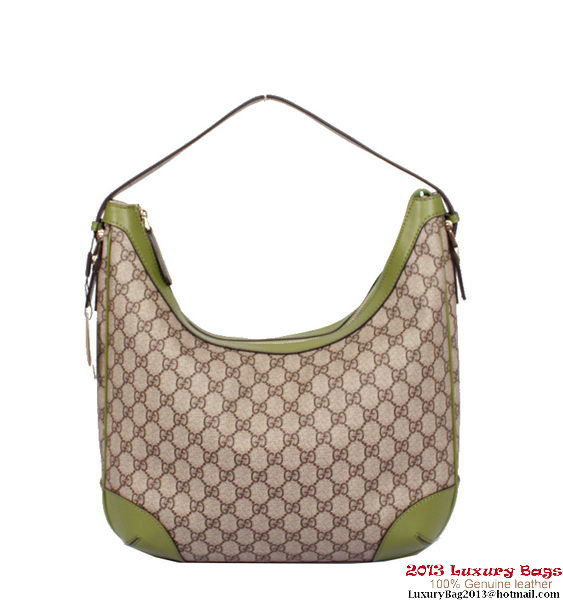 Gucci Nice GG Supreme Canvas Hobo Bag 309618 KGD6G 8899