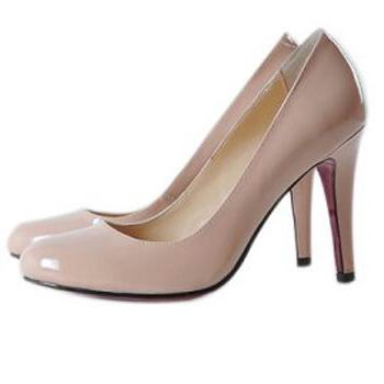 Christian Louboutin Pink Patent Leather Pumps