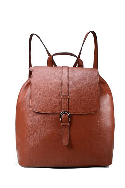 Gucci Backpack in Calfskin Leather 295678 Brown