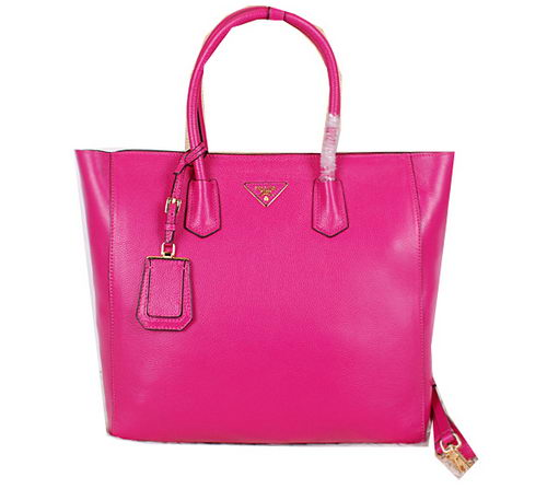 Prada Original Leather Tote Bag BN2773 Rose