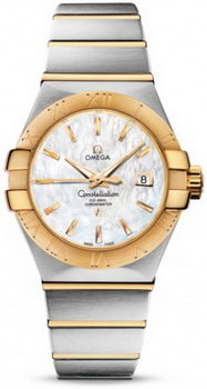 Omega Constellation Brushed Chronometer Watch 158625G