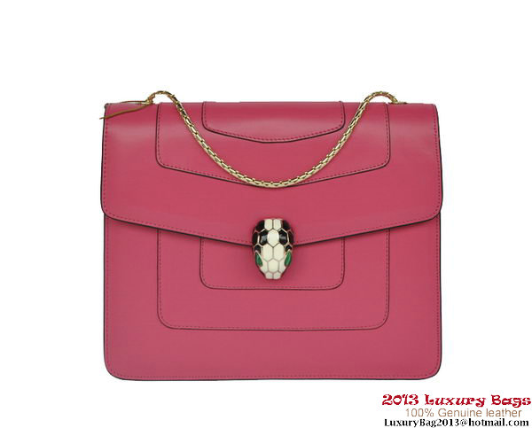 Bulgari Shoulder Bag Nappa Leather B34563 Rosy