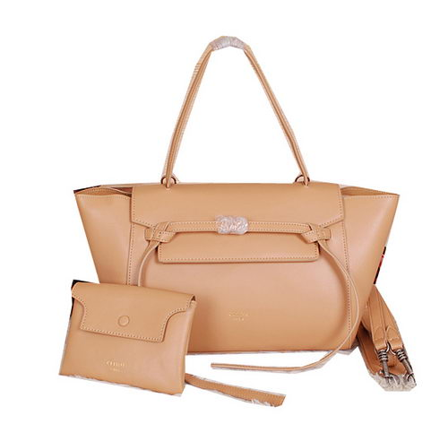 Celine Belt Bag Smooth Calfskin Leather C3396 Apricot