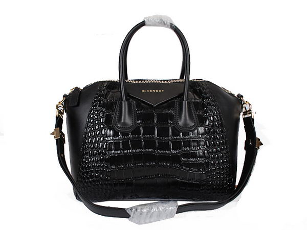 Givenchy Large Antigona Bag in Coco Leather 9981L Black