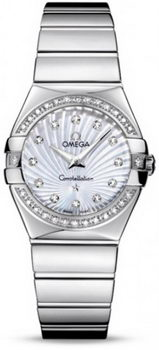 Omega Constellation Polished Quarz Small Watch 158638AC